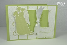 Wedding / Love - Cards & craft ideas / Card and craft ideas, most with Stampin' Up!