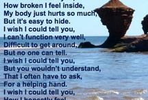 The Fibromyalgia life / To explain how fibro is and help others . we'll fight fibro together.