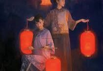Raise the red lantern / by Angie Livingstone Art