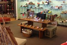 Merchandising / Floor and Wall set examples