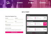 Event website webdesign