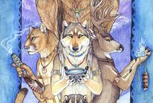 Native American Spirit-Heart-Mind & Soul / by WOLFSOUL