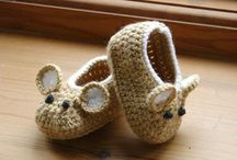 zapatitos crochet
