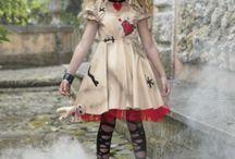 Rag doll dance costume