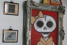 Skull / Skull & Skeleton  .... dove si nascondono  ? / by m o KK  i a