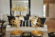 COLOR COMBO: Black & Gold / by Carpet One