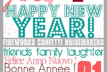 Printables - New Year's