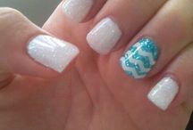 Nails I need to try! / Nail colours, patterns, glitter, shape and design!