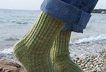 sock knitting!