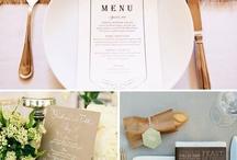 restaurant menu & food plating