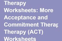 ACT- Acceptance and Commitment Therapy