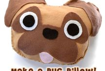 Mopslíky, pug love