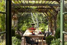 garden dining design