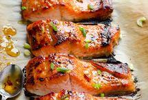 Лосось приготовит рыба