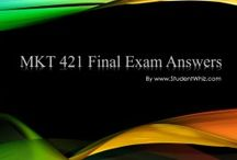 MKT 421 Final Exam Answers