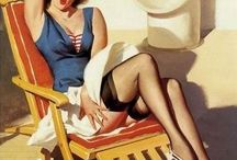 The good ol days / Pin Up Galore The love for PinUps now and back then