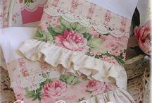 Shabby chic towels