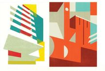 Architectural art / Graphics, prints and photographs of architecture that we'd like to be surrounded by.