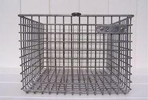 Vintage / Industrial / Bins , Crates, Shelves, Drawers.... / by Linda Mcguire