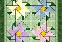 půlené čtverce