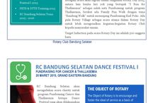 E-bulletin / Rotary Club Bandung Selatan monthly digital bulletin