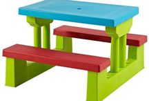 Furniture Kids Gift Children's House Junior Set Table Chairs Toddler Outdoor Toy
