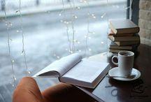 Отдых за чтением книги
