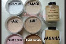 Face powders