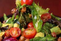 chickpea  avo  salad
