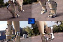 """High Heels signalisieren """"Ich bin bereit für Sex"""" / Je höher ihre Schuhe sind, desto nötiger hat sie es, gefickt zu werden. Eine klare Botschaft, auf die die Trägerin keinen Einfluss haben sollte. Deshalb liebe ich abschließbare High Heels."""