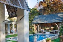 My verandah and pool...