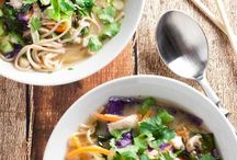 Favourite Asian Recipes / Crave worthy Asian Inspired Recipes- noodles, rice, and more. YUM!