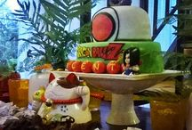 Dragon Ball Z Party, WONDEREVENTS / Una fiesta inspirada en Piccolo Daimaku, torta de Angie Monsalva.