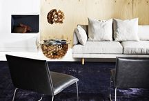 GlobeWest - Refined Warmth / Vittoria Iris Sofa, Academy Occasional Chairs, Vito Selma Coffee Table & Pendant Light Styling: Julia Green, Photography: Armelle Habib www.globewest.com.au