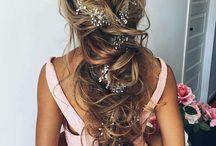 nişan saç modelleri