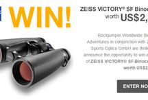 WIn a pair of Zeiss VICTORY® SF Binoculars worth US$2,800. / Rockjumper Worldwide Birding Adventures in conjunction Zeiss Sports Optics GmbH are thrilled to announce the opportunity to win a pair of Zeiss VICTORY® SF Binoculars worth US$2,800. Rediscover the world of bird watching with the ZEISS VICTORY® SF.  Click here to enter the competition:  http://www.rockjumperbirding.com/birdingmoment