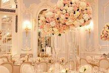 Wedding - white & pink