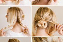 einfache Frisuren