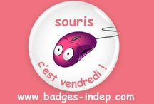 Drôle, Humour et Badges / Personnalisé vos envies et votre humour avec nos badges rond épingle