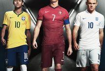 Neymar , Ronaldo i Rooney