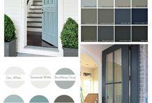 Front door painting color