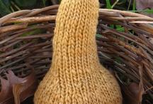 Knitted veg