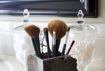 make up / make up ideas and storage