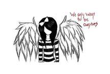 fallen angel drawings