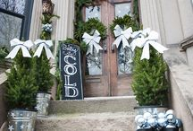 Holiday Decor with The Blue Eyed Bride / by Dr. Smith's