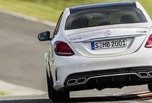 Mercedes C63 AMG reveal / The new 2014 Mercedes C63 AMG / by AutoTrader.co.uk