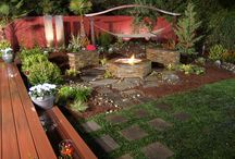 Zen garden ideas / Water friendly backyard.