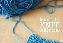 I WILL learn how to knit!