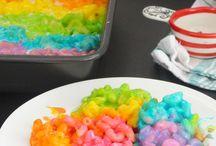 Rainbow food ❤️