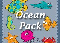 Oceans & Beaches / by Cassie Osborne (3Dinosaurs.com)